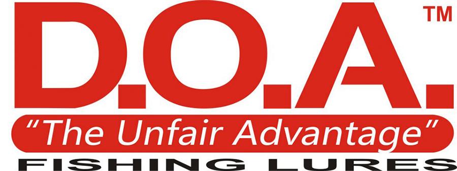 DOA fishing lures logo